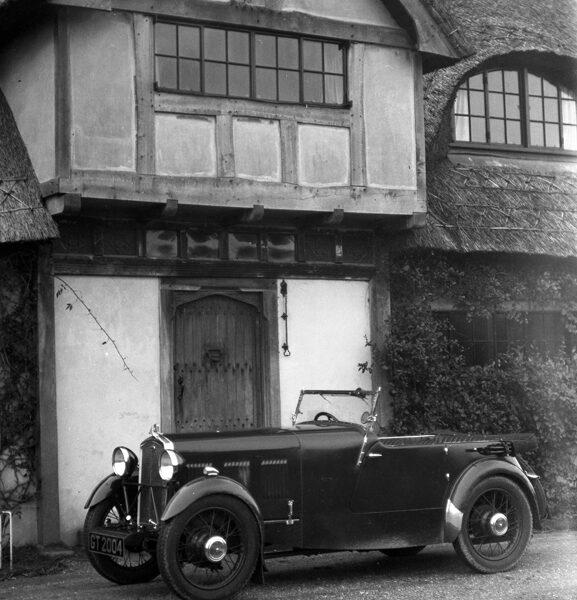 LAT Motor Sport Neg 1932 AS3 Abbey Wolseley Hornet  Sports GT2004 Tested Motor Sport Jan 1932