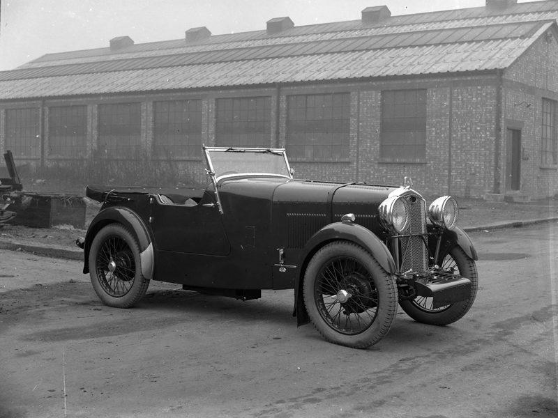 LATplate E1910 1931 Abbey AS3 Wolseley Hornet Sports special