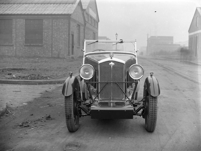 LATplate E1911 1932 Abbey AS3 Wolseley Hornet Sports Autocar 13/5/32