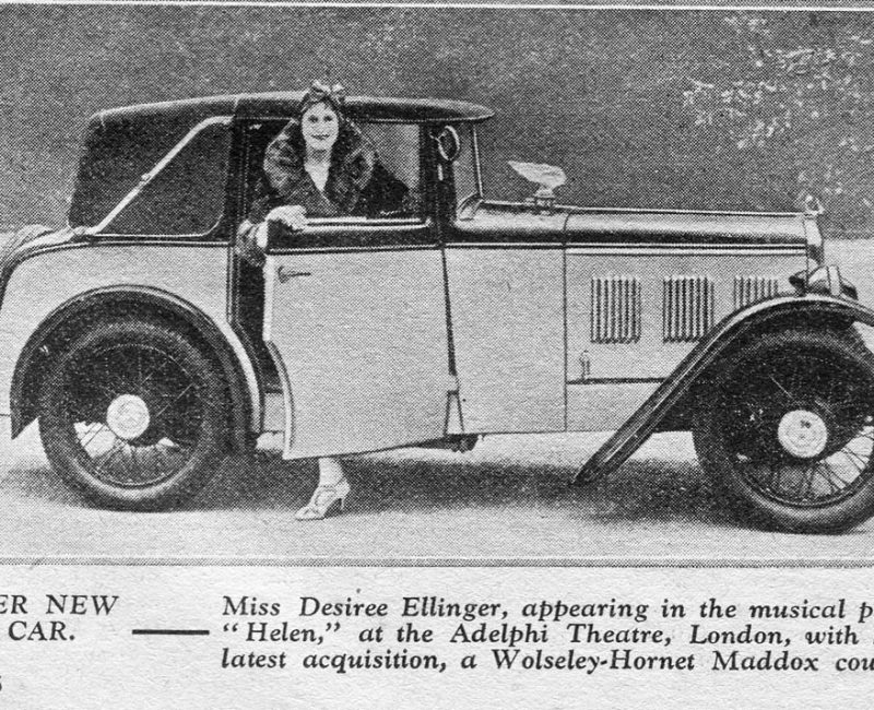 1932 Maddox Wolseley Hornet Coupe special