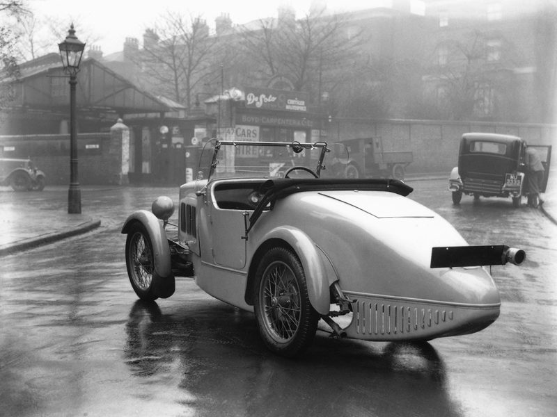 LATplate Red 8954  Boyd Carpenter 1931 Wolseley Hornet Sports Autocar 5/12/30