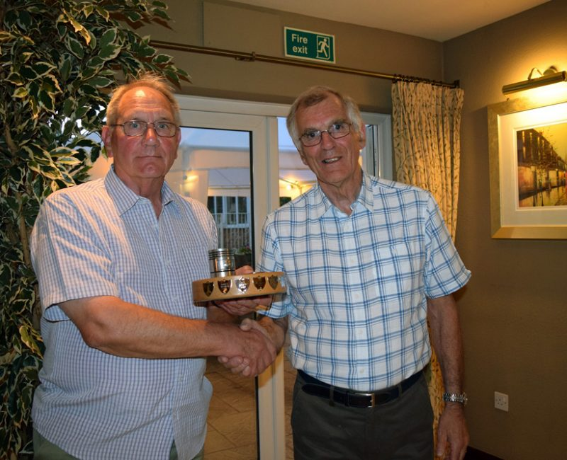 Harry Edwards Trophy David Baldock 2017 accepted by Philip Butland