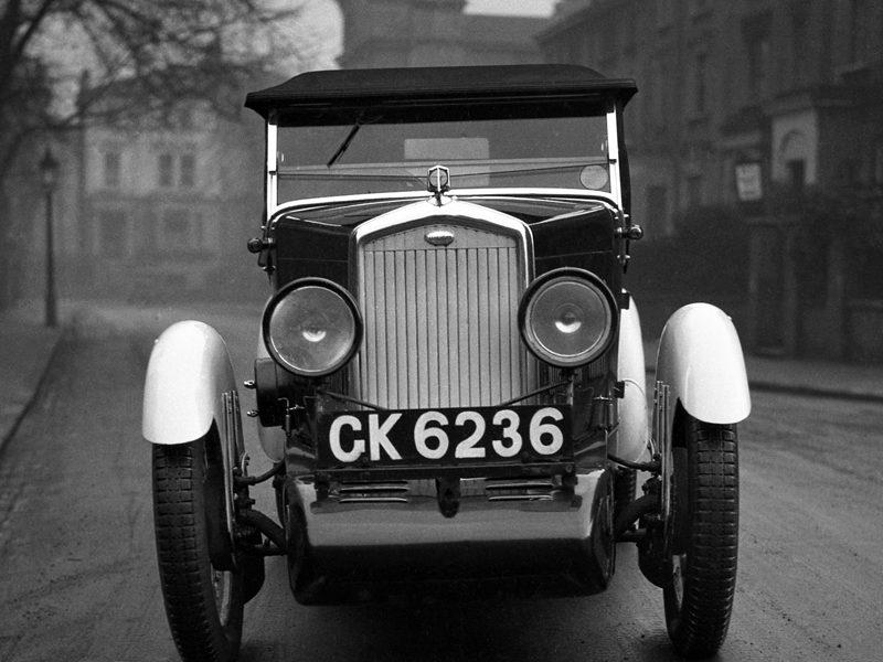 LAT Motor Sport Neg Boyd-Carpenter Wolseley Hornet Sports CK 6236 Feb 1931 edition