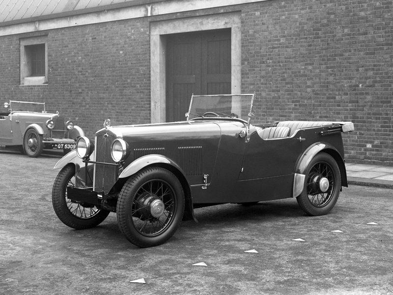 LAT Plate E1959 1932 Eustace Watkins 2/4 seater Wolseley Hornet Sports GT 5309 Deluxe model