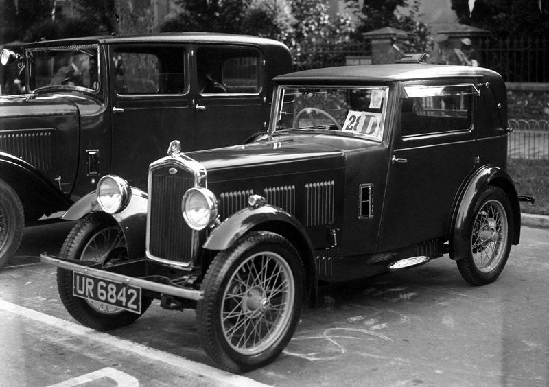 LATPlate Red 8482 1930 Hoyal Wolseley Hornet Sportsmans Coupe special J W Whalley Ramsgate Concourse Comp.  Sept 1930