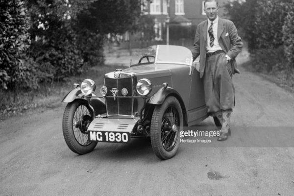MG 1930 Robinson MG MG Midget d ws
