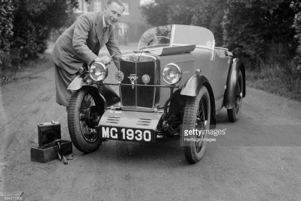 MG 1930 Robinson MG MG Midget e ws