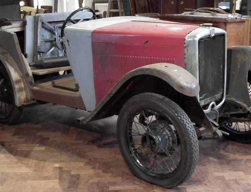 AGP 288 1933 Minor Two seater project Peter Wilson March 2017 a