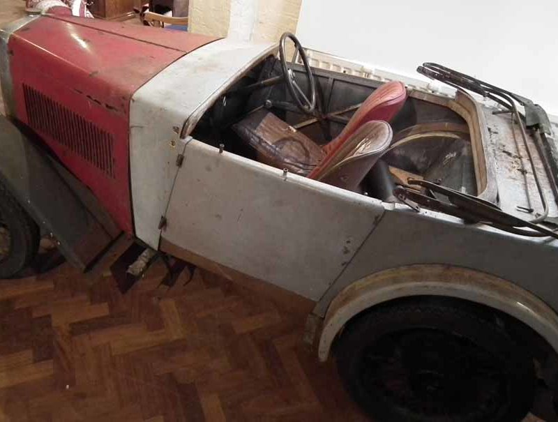 AGP 288 1933 Minor Two seater project Peter Wilson March 2017 sold £2200 d