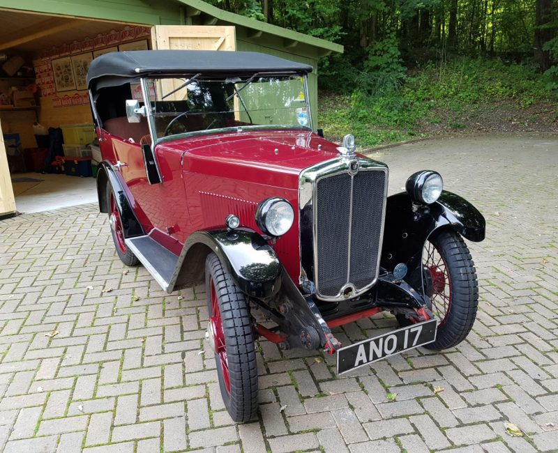 ANO 17 1934 Minor Tourer castle Classics £12K Aug 2017