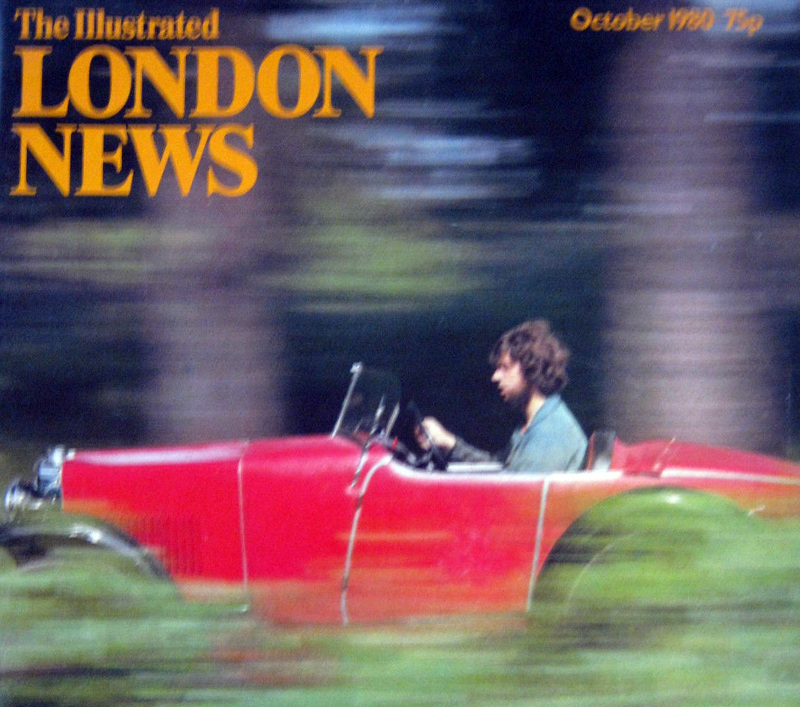 Illustrated London News M Type cover October 1980 ws