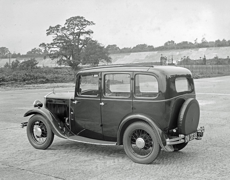 LATplate E1192 1932 Wolseley Hornet Saloon OV 3738