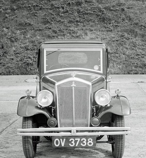 LATplate E1193 1932 Wolseley Hornet Saloon