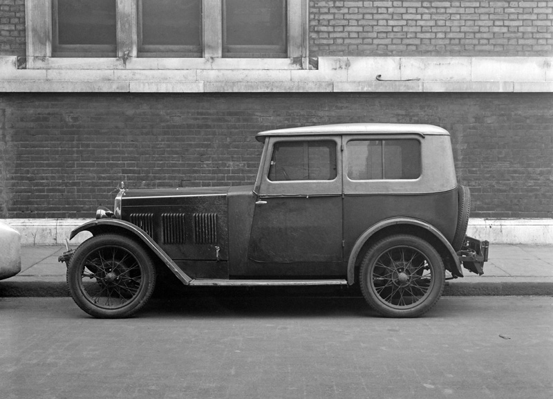 LATplate E1816 1930 Wolseley Hornet Fabric Saloon
