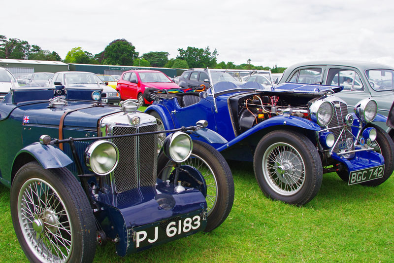 A 'blown' Midget and a Wolseley Hornet Special (Gregory)