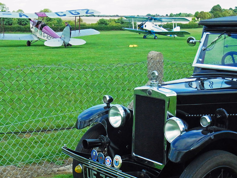 Martin Gregory's Minor Coachbuilt Saloon and Tiger Moths (Gregory)