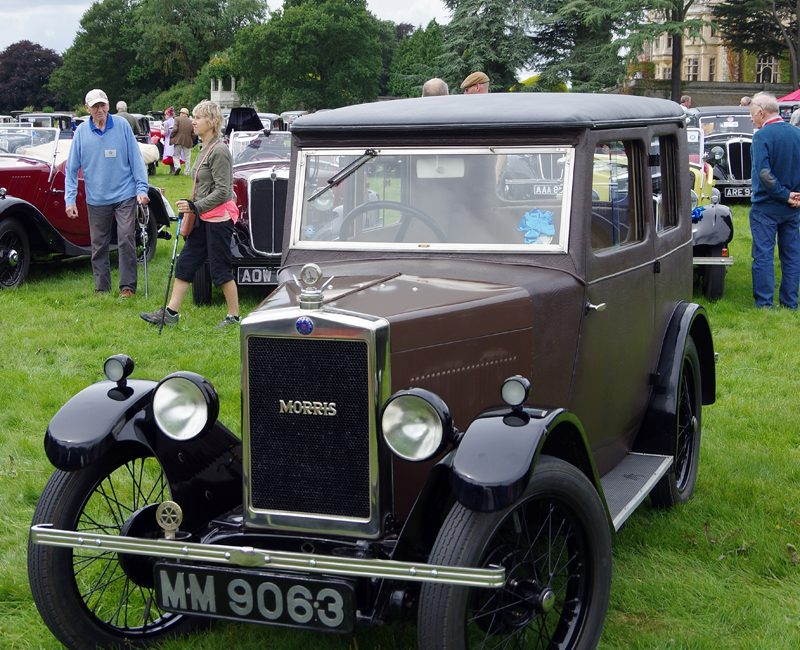 Thoresby 2017 MM 9063 1929 Minor Fabric Saloon mainland debut