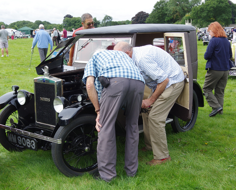 Thoresby 2017 MM 9063 1929 Minor Fabric Saloon - the former 'Orkney' car