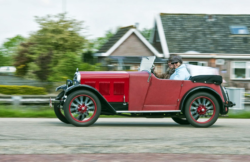 Wolseley Hornet Sports Arie Roest