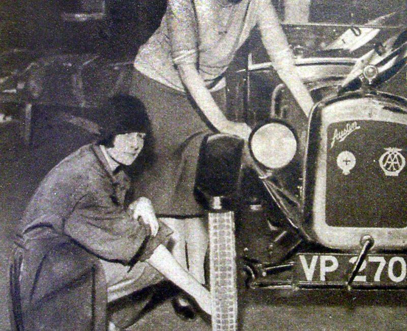 November 1928 Auto Motor Journal - Austin Seven across USA