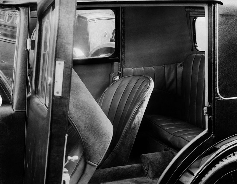 1930 Jarvis Minor Coupe special interior ws