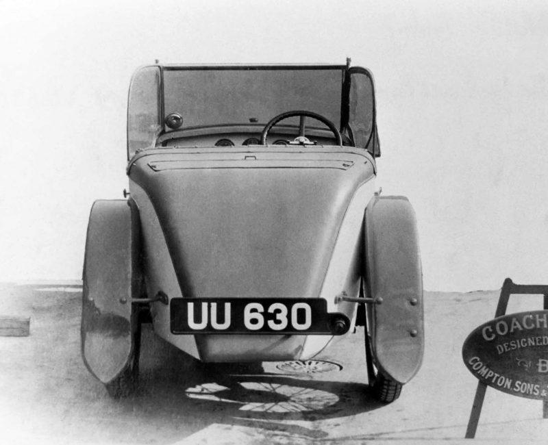 1929 Compton Son & Terry 'Arrow' Austin Seven 40 UU 630 (Harry Edwards collection)