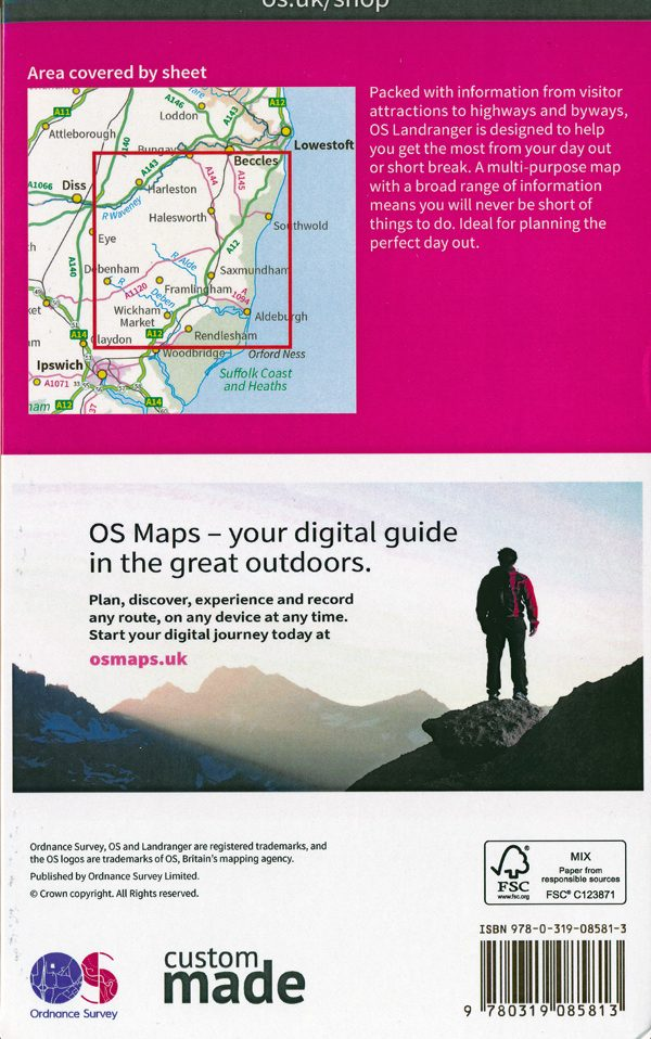 OS Map cover 2018 Pacesetters rally reverse