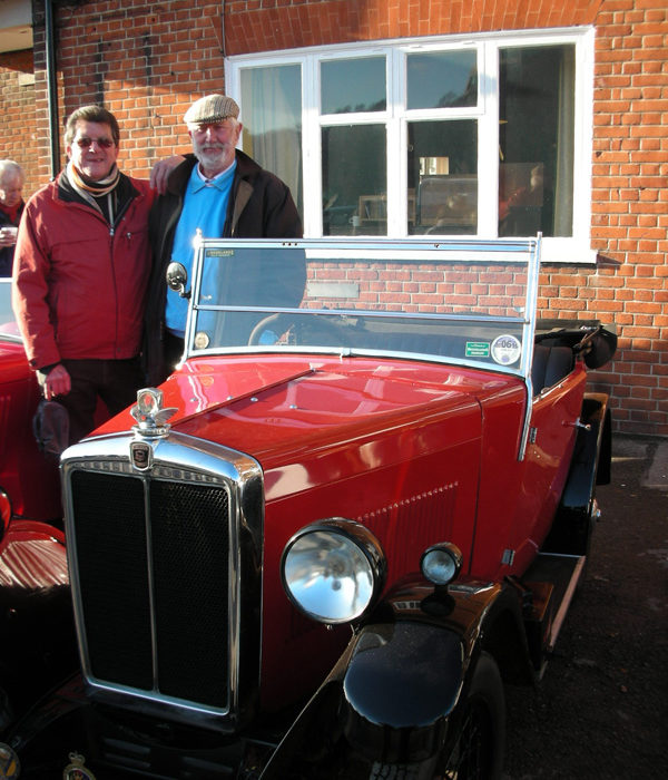 289 UXG with Alister & Mike Brooklands AMAD
