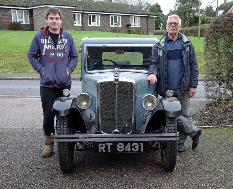 RT 8431 Bernie & Andrew Miles