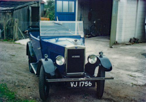 VJ 1756 K E Pittaway M 4712 1929 Minor Tourer