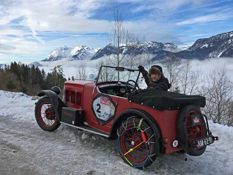 AM-62-91 1930 Jarvis Hornet Special Arie & Tineke Roest The Alps Jan 2018 ws
