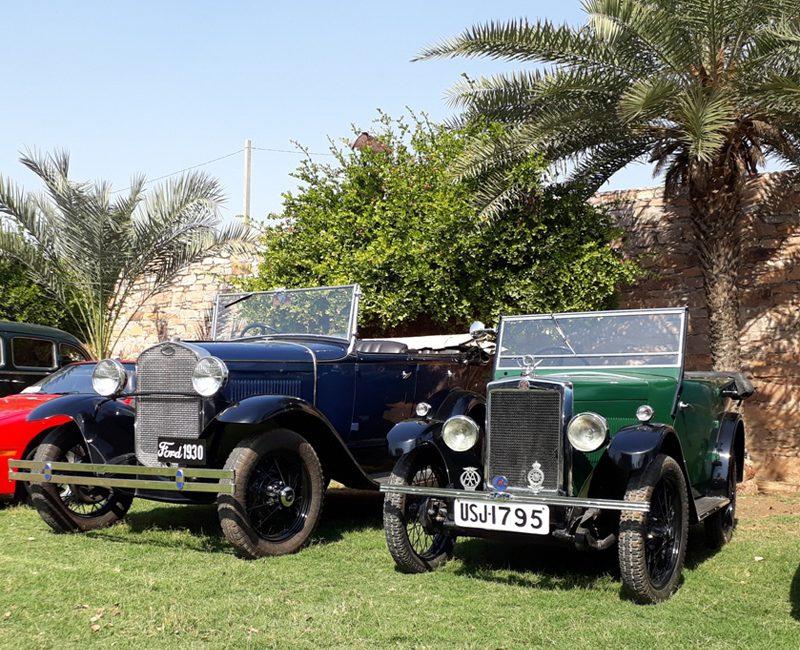 Kartik's Ford Model 'A' and 1930 Minor Tourer