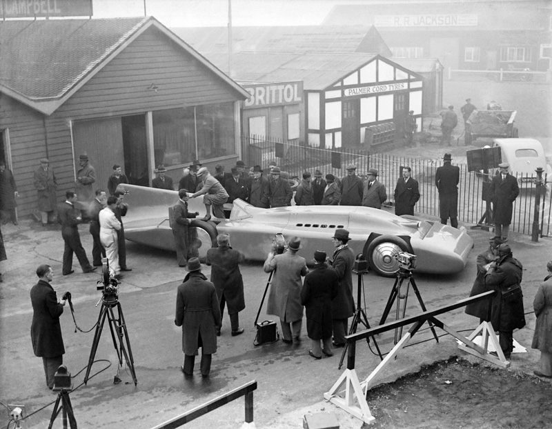 LATplate Motor 778-60 Bluebird record breaker 1935 Malcolm Campbell Brooklands