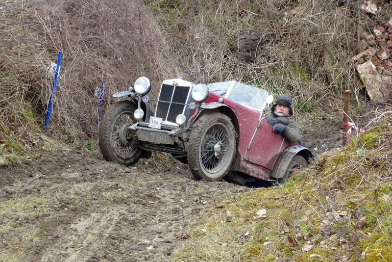 2018 Herefordshire Trial VU 7908 1931 MG M Type Riley 9 engined special David Rolfe - Steven Kent photo