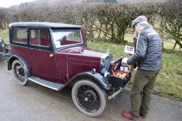 2018 Light Car Welsh DY 6083 Charles & Sue Gillett picnic Photo: olebluey