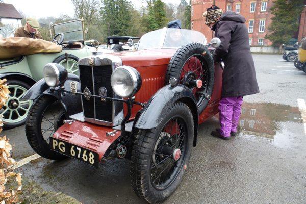 2018 Light Car Welsh PG 6768 1930 MG Midget Photo: olebluey