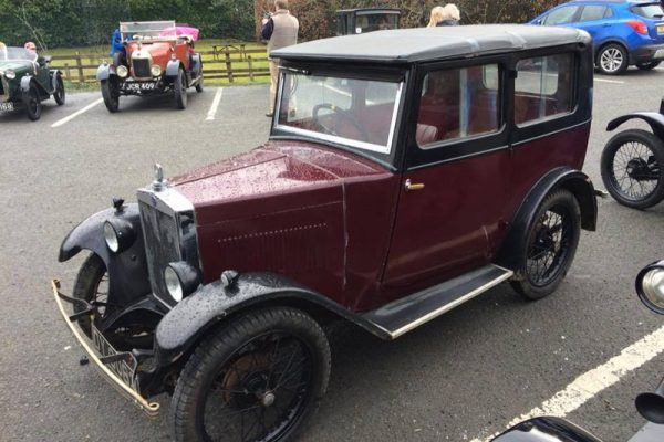 Charles Gillett's 1930 Minor Coachbuilt Saloon Metropole car park Photo: Maeers/Wilson