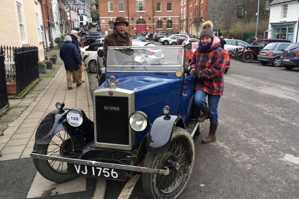 Janie Meers & Geof Wilson at 2018 Light Car Welsh Photo: Maeers/Wilson
