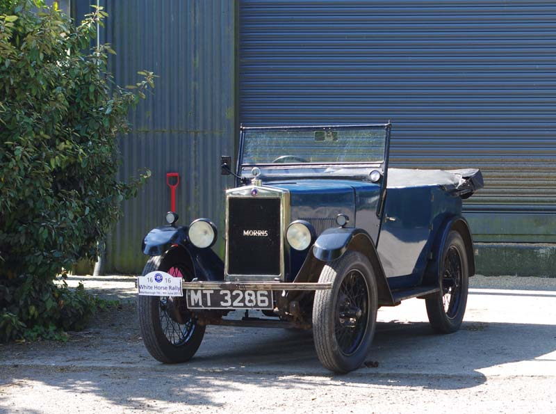 MT 3286 1929 Minor Tourer Ronald Hogg