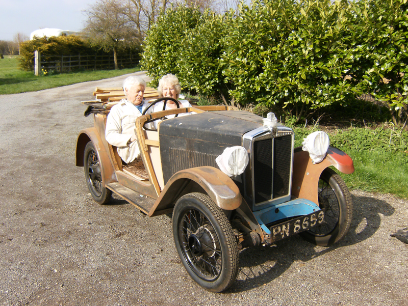 PN 8659 1932 Minor Two-seater Chris Healey ws