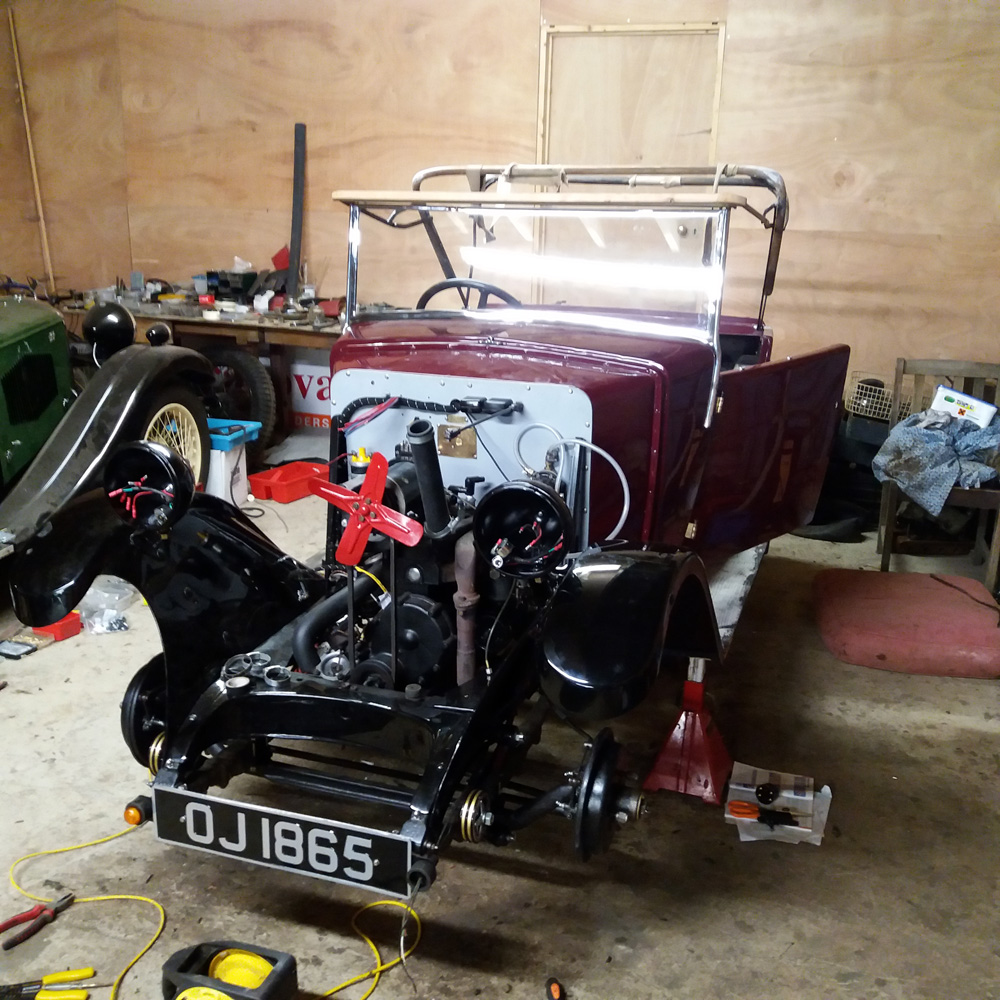 OJ 1865 1932 Minor Two-seater Mike Summers May 2018 ws