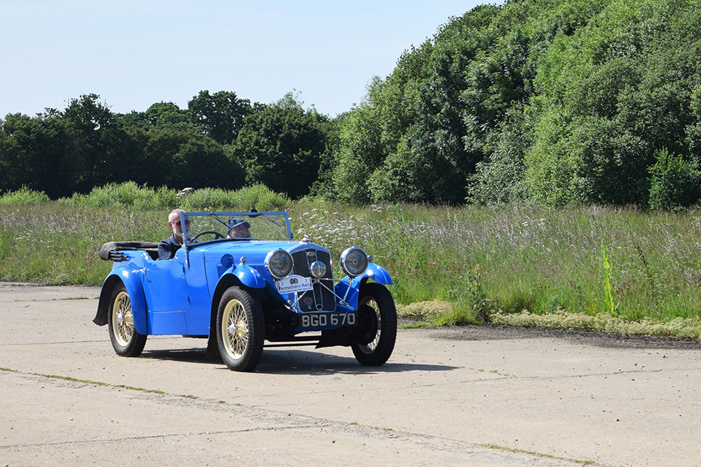 18-06-10 PWMN Pacesetters Rally 025 Thorpe Abbots Airfield KateMartinPic