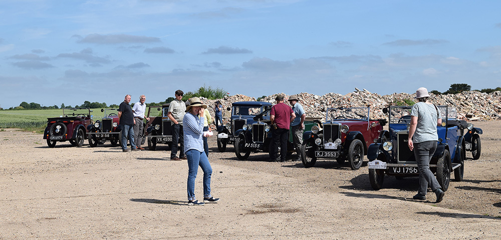18-06-10 PWMN Pacesetters Rally 028 Thorpe Abbots Airfield KateMartinPic