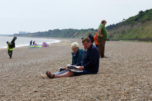 Dunwich beach Sunday - The Waitings