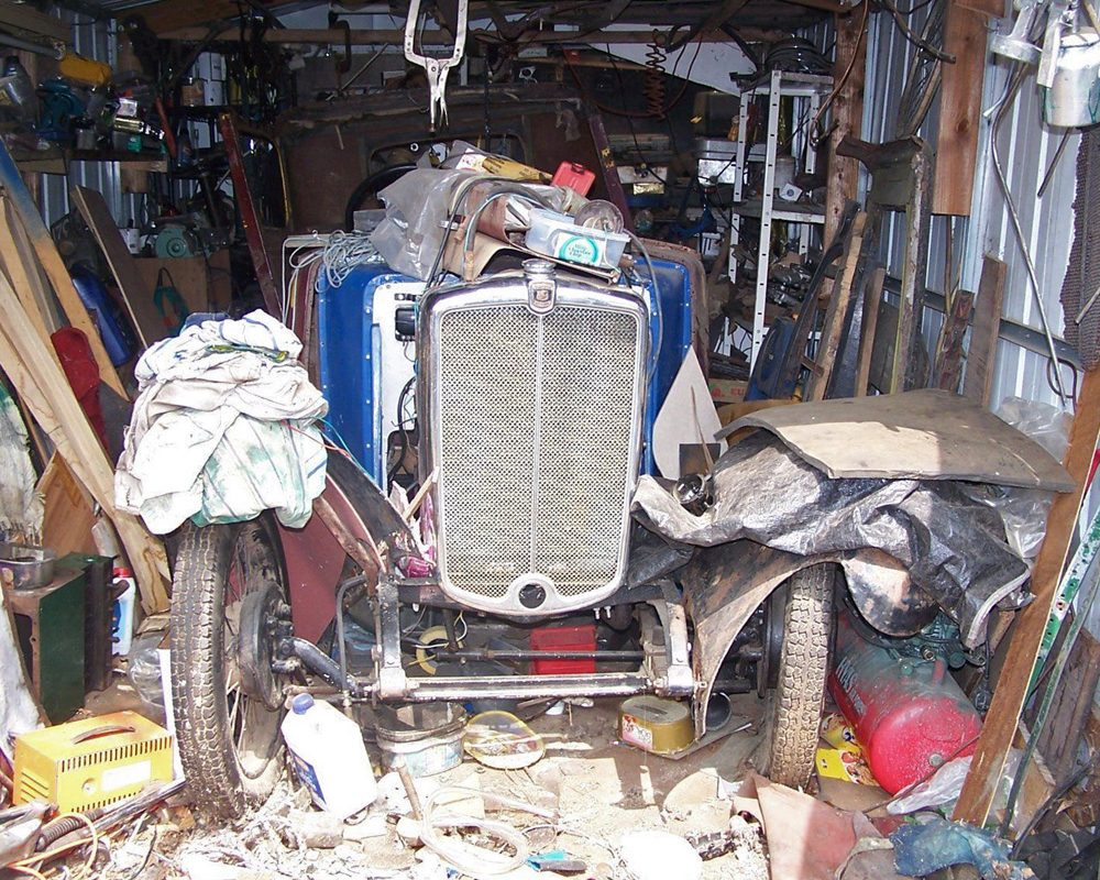 1933 Minor Two-seater project + Saloon body and spares Scunthorpe ws