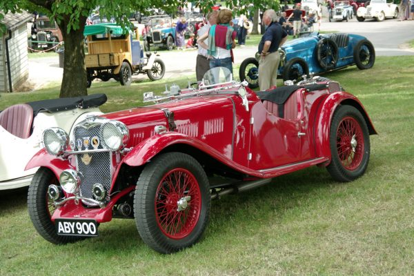 PWP 2018 ABY 900 1934 Singer Le Mans David James