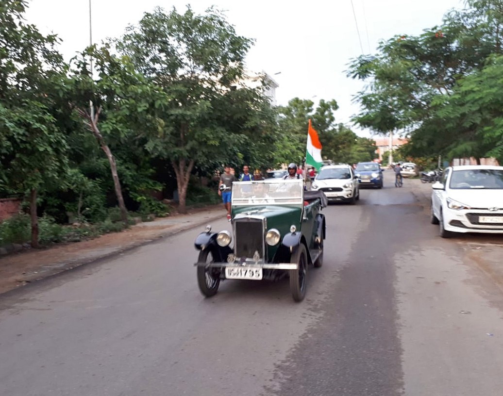 USJ 1795 1930 Minor Tourer Kartik Lunia 15th August 2018
