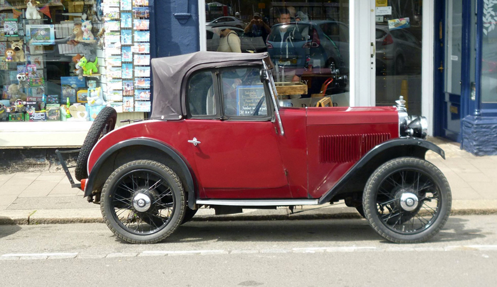 VX 7312 1932 Minor Two-seater Dartmouth b Henry Harvey ws