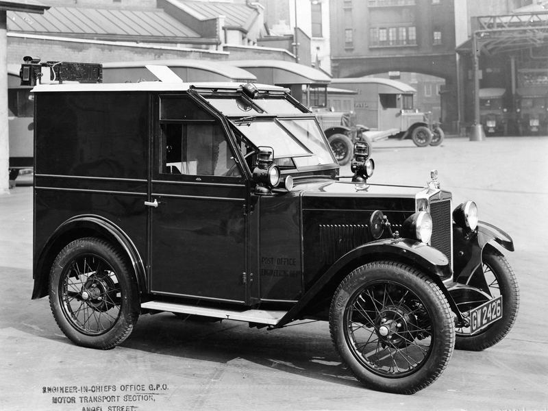 GW 2426 March 1932 GPO Linesmans Van Perrys body one of first six Oilyrag Joe WS