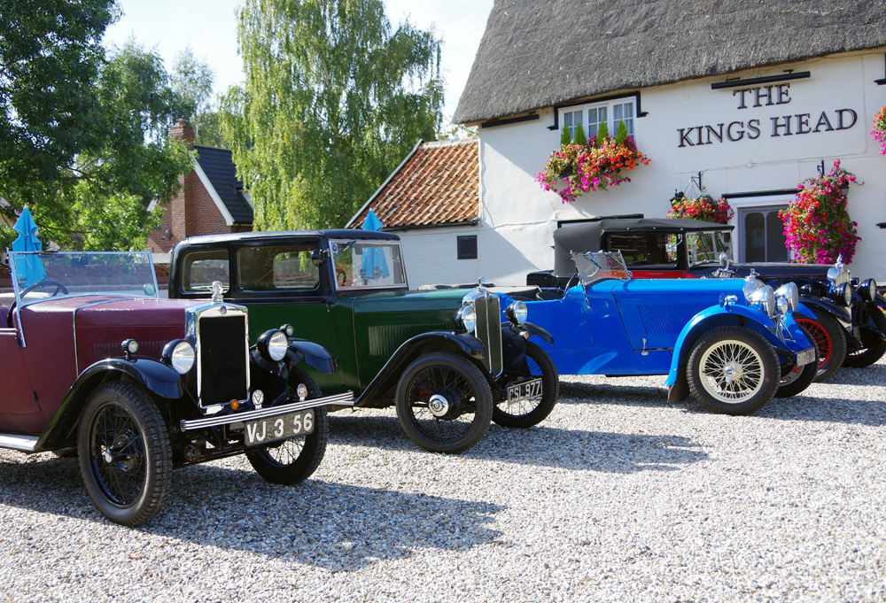VSCC September 2018 gathering Kings Head North Lopham
